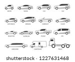 car type and model objects... | Shutterstock .eps vector #1227631468