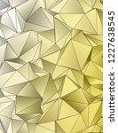 triangulated texture. design 3d.... | Shutterstock . vector #1227638545