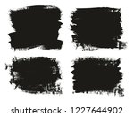 calligraphy paint brush... | Shutterstock .eps vector #1227644902