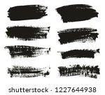 calligraphy paint brush... | Shutterstock .eps vector #1227644938