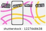 abstract social media stories... | Shutterstock .eps vector #1227668638