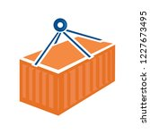 container logistic   shipping... | Shutterstock .eps vector #1227673495
