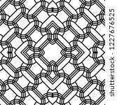 design seamless monochrome grid ... | Shutterstock .eps vector #1227676525