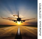 aircraft clear to land | Shutterstock . vector #1227678925