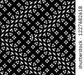 design seamless monochrome... | Shutterstock .eps vector #1227682618