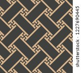 vector damask seamless retro...   Shutterstock .eps vector #1227690445