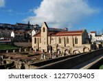 monastery of santa clara a... | Shutterstock . vector #1227703405