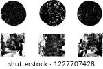 grunge post stamps collection ... | Shutterstock .eps vector #1227707428
