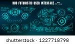 hud futuristic green user... | Shutterstock .eps vector #1227718798