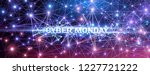 cyber monday. promotional... | Shutterstock .eps vector #1227721222