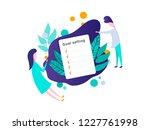 smart goal setting concept.... | Shutterstock .eps vector #1227761998