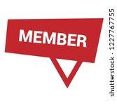 member sign label. member... | Shutterstock .eps vector #1227767755