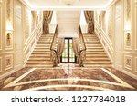 interior design in a classic... | Shutterstock . vector #1227784018