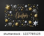merry christmas and new year... | Shutterstock .eps vector #1227785125