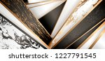 luxury paper cut background ... | Shutterstock .eps vector #1227791545