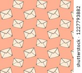 vector mail texture made with... | Shutterstock .eps vector #1227793882
