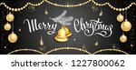 horizontal banner with... | Shutterstock .eps vector #1227800062