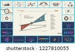 set of analysis or marketing... | Shutterstock .eps vector #1227810055