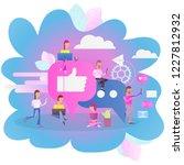 modern flat design concept of...   Shutterstock .eps vector #1227812932