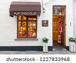 brugge  belgium   27 august ...   Shutterstock . vector #1227833968
