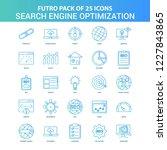 25 green and blue futuro search ... | Shutterstock .eps vector #1227843865