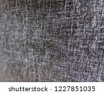 closeup black color synthetic...   Shutterstock . vector #1227851035