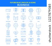 business icons   futuro blue 25 ... | Shutterstock .eps vector #1227879385