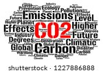 co2 word cloud concept  | Shutterstock . vector #1227886888