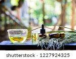 rice bran oil   benefits of... | Shutterstock . vector #1227924325
