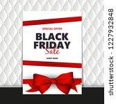 black friday sale design... | Shutterstock .eps vector #1227932848