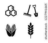 agriculture  farming. simple... | Shutterstock .eps vector #1227941665