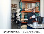 african business owner in an... | Shutterstock . vector #1227962488