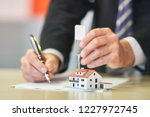 real estate market  purchase... | Shutterstock . vector #1227972745