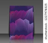 colorful musical iillustration. ... | Shutterstock . vector #1227978325
