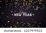happy new year illustration...   Shutterstock . vector #1227979522