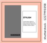 modern promotion square web... | Shutterstock .eps vector #1227993358