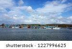 fishing boats at a dockyard    Shutterstock . vector #1227996625