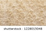 beige natural wool with twists... | Shutterstock . vector #1228015048