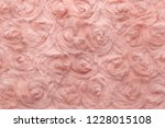 pink natural wool with twists... | Shutterstock . vector #1228015108