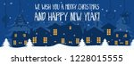 merry christmas and happy new...   Shutterstock .eps vector #1228015555