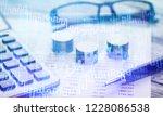 saving account book from bank... | Shutterstock . vector #1228086538