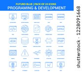 programming and developement... | Shutterstock .eps vector #1228091668