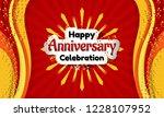 celebration background design... | Shutterstock .eps vector #1228107952