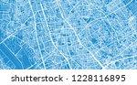 urban vector city map of... | Shutterstock .eps vector #1228116895