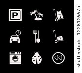outdoor icon. outdoor vector... | Shutterstock .eps vector #1228126675