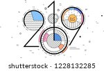 2019 new year | Shutterstock .eps vector #1228132285