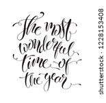 it's the most wonderful time of ...   Shutterstock .eps vector #1228153408