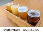 craft beer varietal tasting... | Shutterstock . vector #1228162222