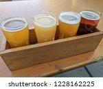 craft beer varietal tasting... | Shutterstock . vector #1228162225