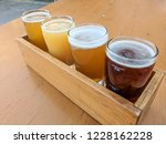 craft beer varietal tasting... | Shutterstock . vector #1228162228
